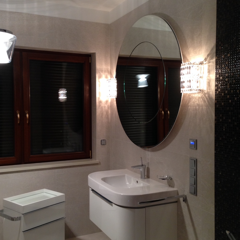 Anna Buczny INTERIOR DESIGN Bathroom design, comprehensive furnishing and decoration on a turnkey basis.
