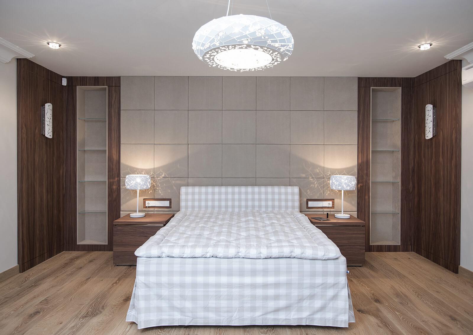 Sypialnia Z Garderobą Anna Buczny Projektowanie I