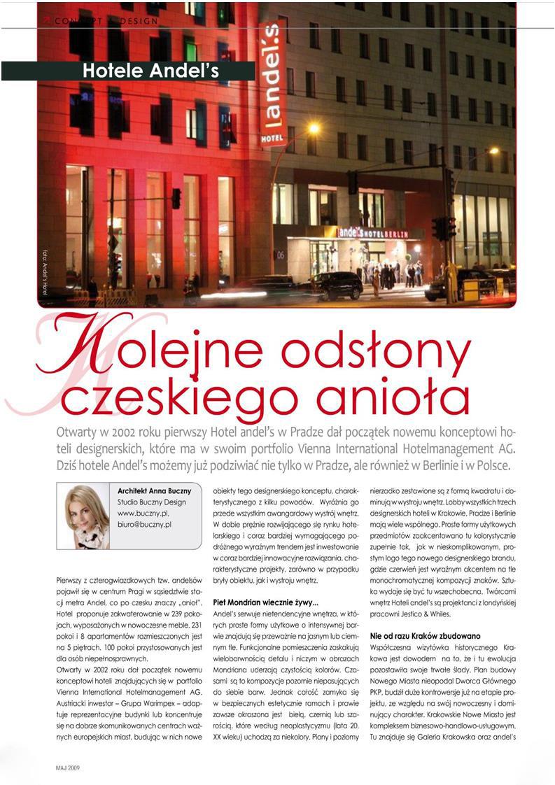 Kolejne odsłony czeskiego anioła / Hotel Pro