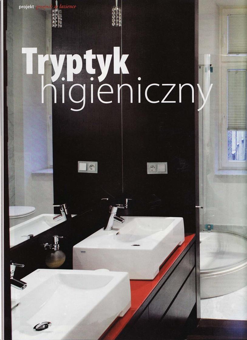 Tryptyk higieniczny / Świat łazienek