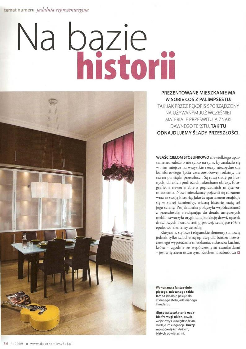 Na bazie historii / Świat Łazienek i Kuchni