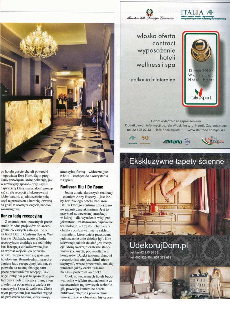Lobbing za lobby / Świat Hoteli