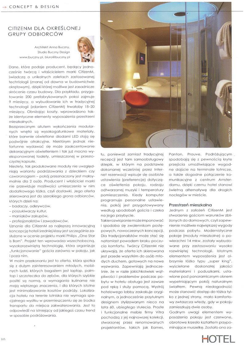 Rewolucja w przemyśle hotelarskim. CitizenM podbija świat! / Hotel Profit